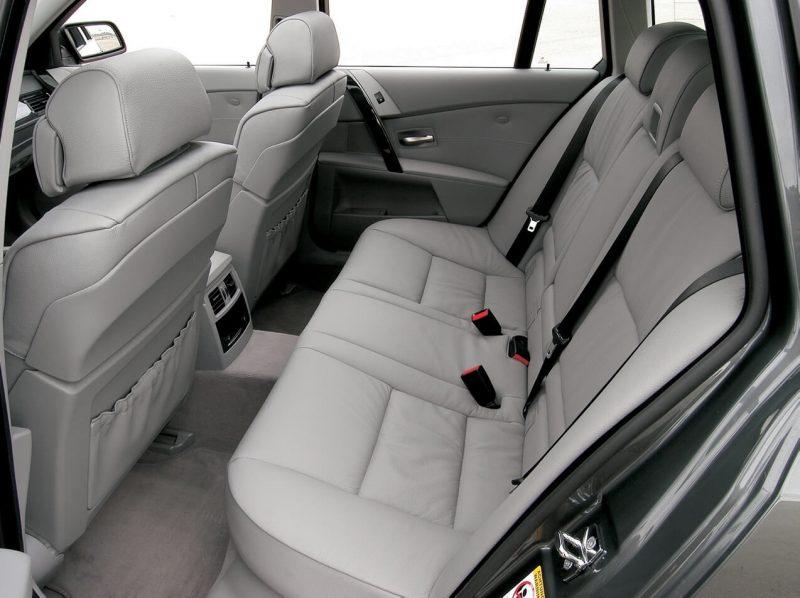 Задний диван BMW 5 Series Touring
