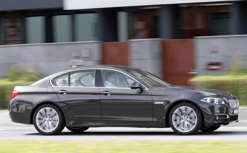 Вид сбоку BMW 5 Series (F10)
