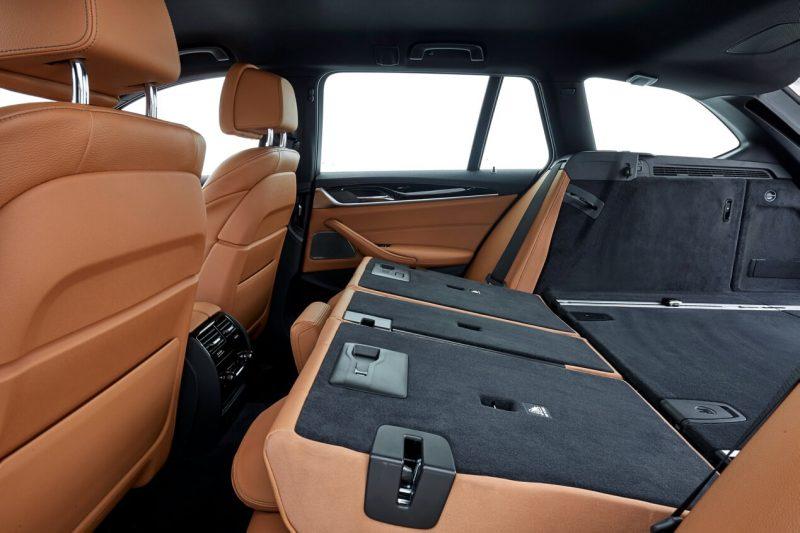 Задний диван BMW 5-Series