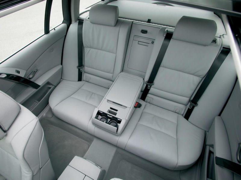 Интерьер BMW 5 Series Touring