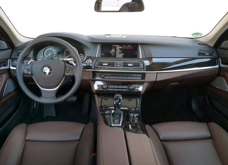 Интерьер BMW 5 Series (F10)