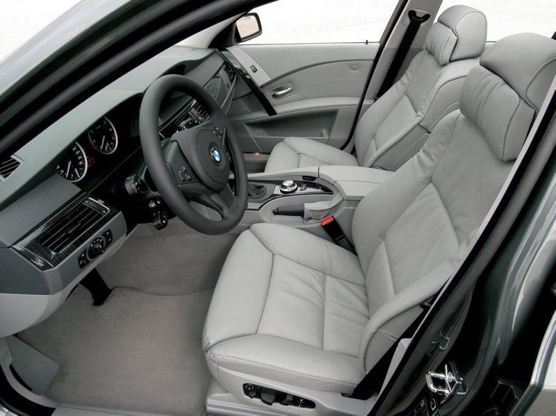 Салон BMW 5 Series Touring