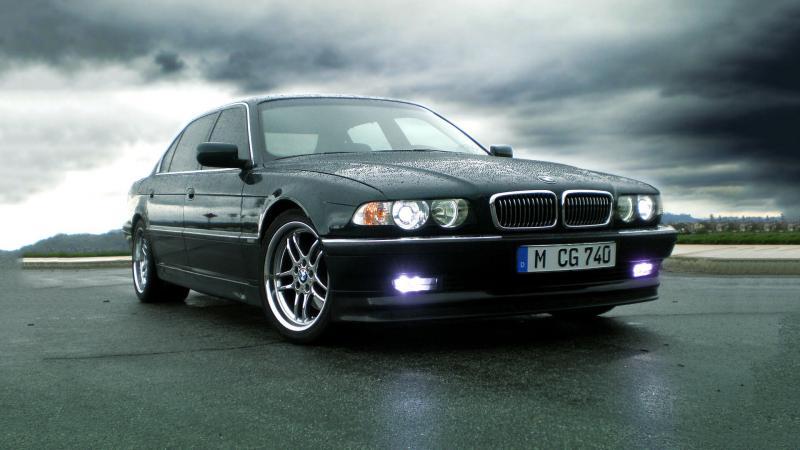 BMW 7 E38 фото авто