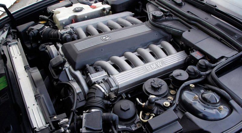 Двигатель BMW 7-Series E32