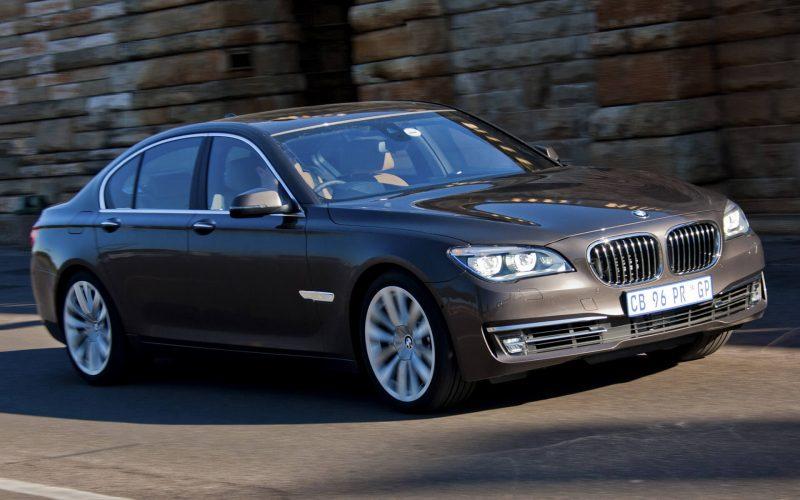 BMW 7-Series 2012 года