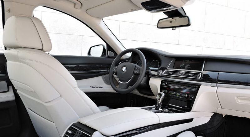 Интерьер BMW 7 Series