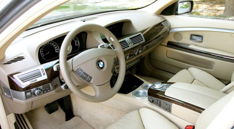 Интерьер BMW 7 Series Е65
