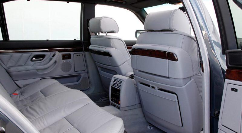Салон BMW 7-Series E38
