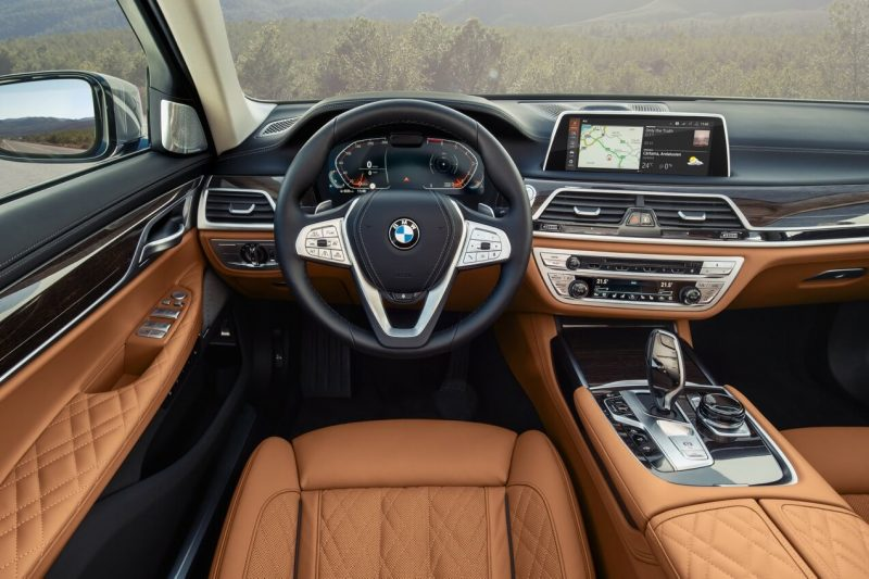Интерьер BMW 7-Series