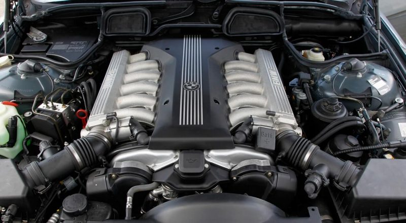 Двигатель BMW 7-Series E38