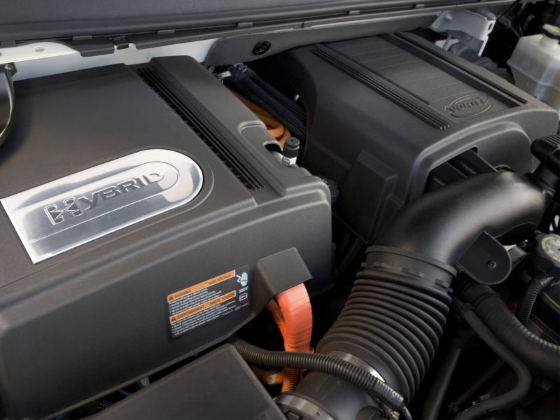 Двигатель Cadillac Escalade Hybrid