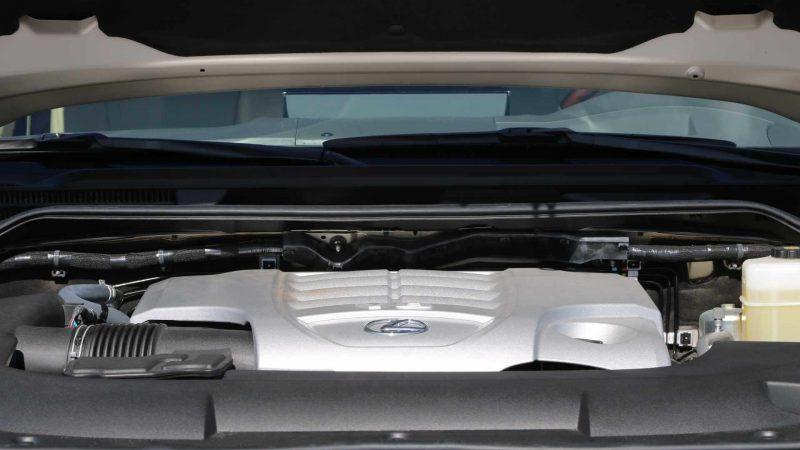 Двигатель Lexus LX