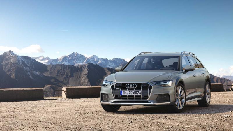 Audi A6 AllRoad вид спереди