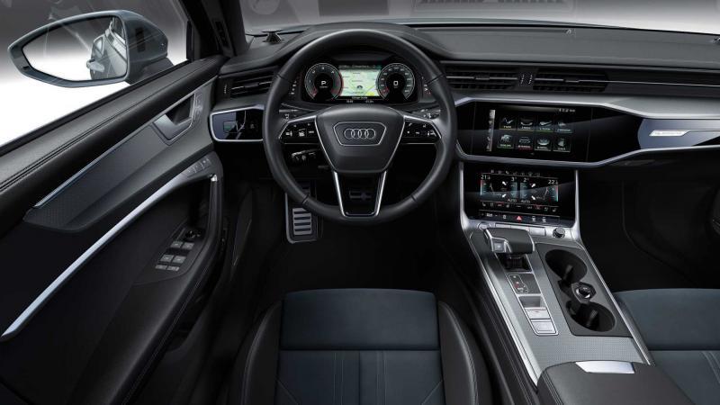 Интерьер Audi A6 AllRoad