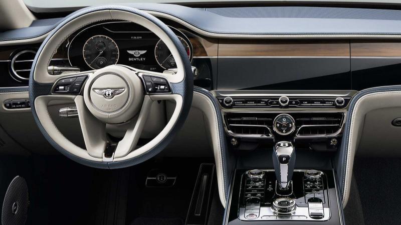 Bentley Flying Spur: ювелирная работа в каждой детали