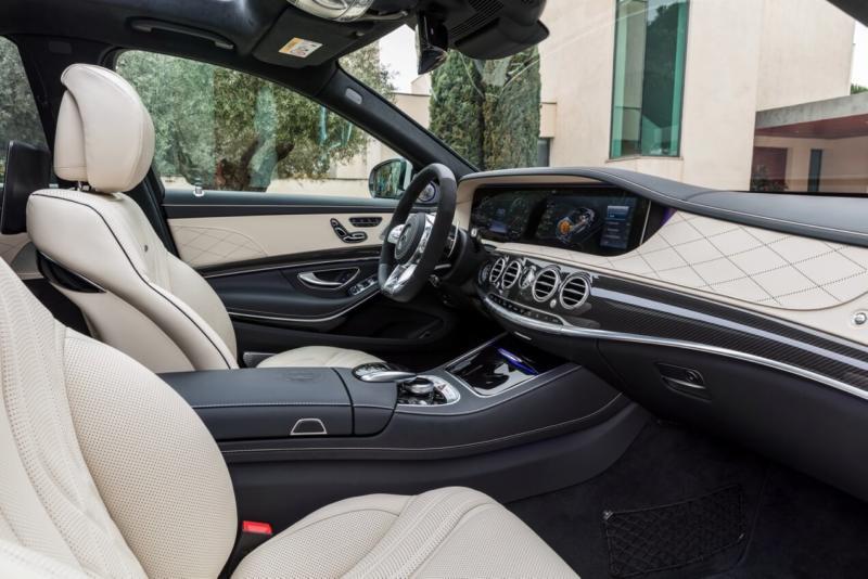 Салон Mercedes-Benz S-Class