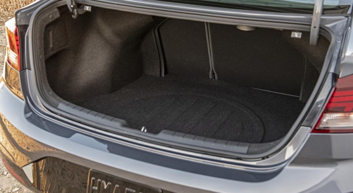 Багажник Hyundai Elantra AD