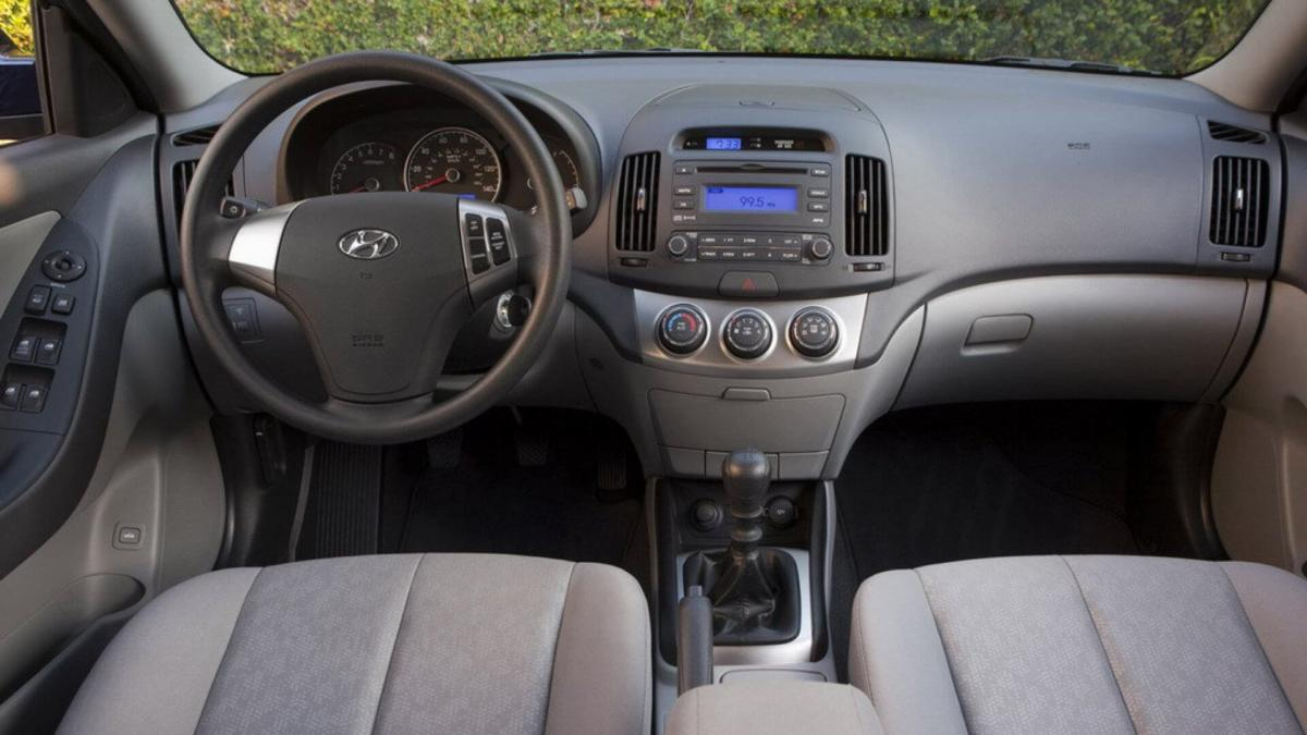 Интерьер Hyundai Elantra HD