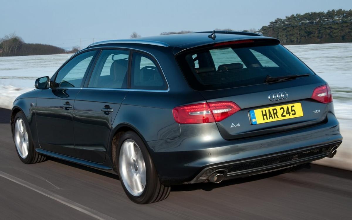 Audi A4 2012 года