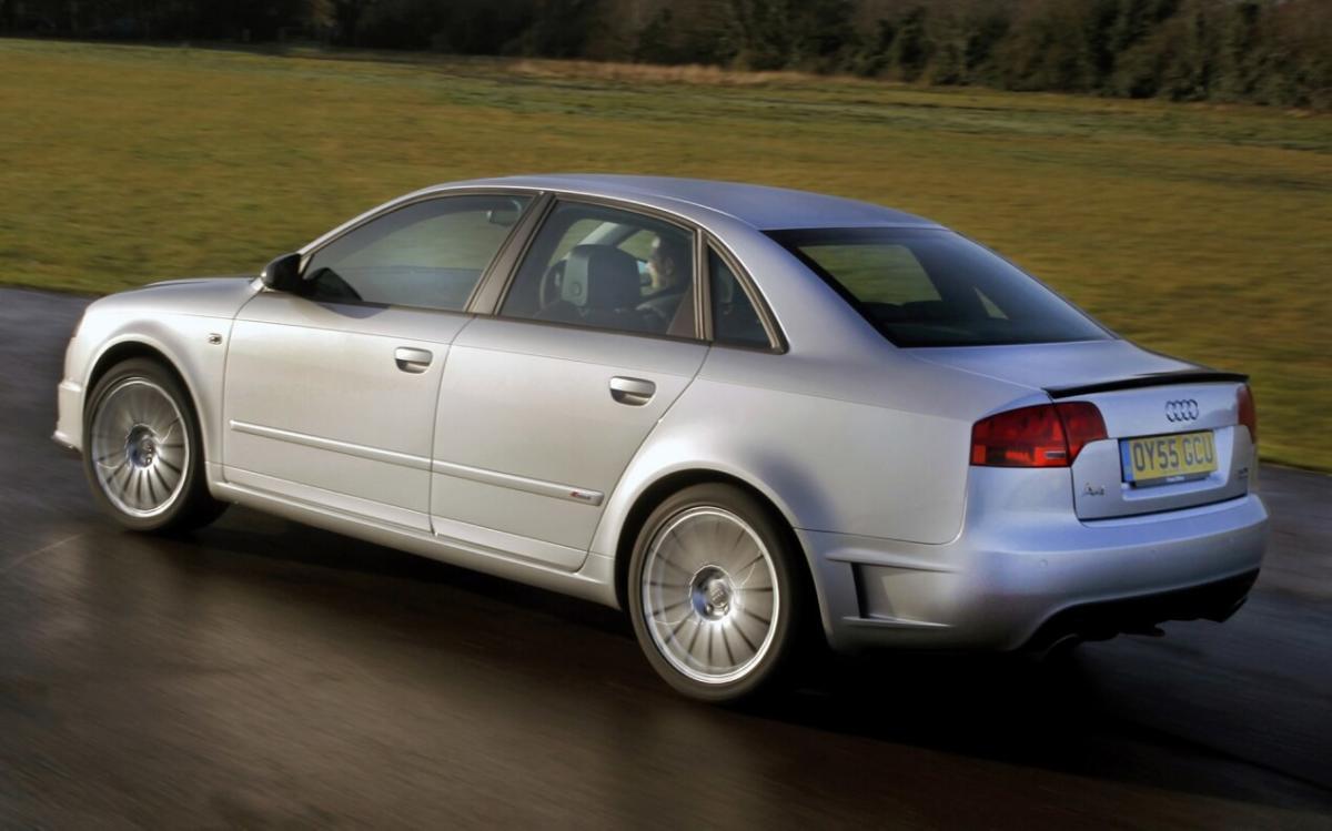Фото авто Audi A4 (B7)