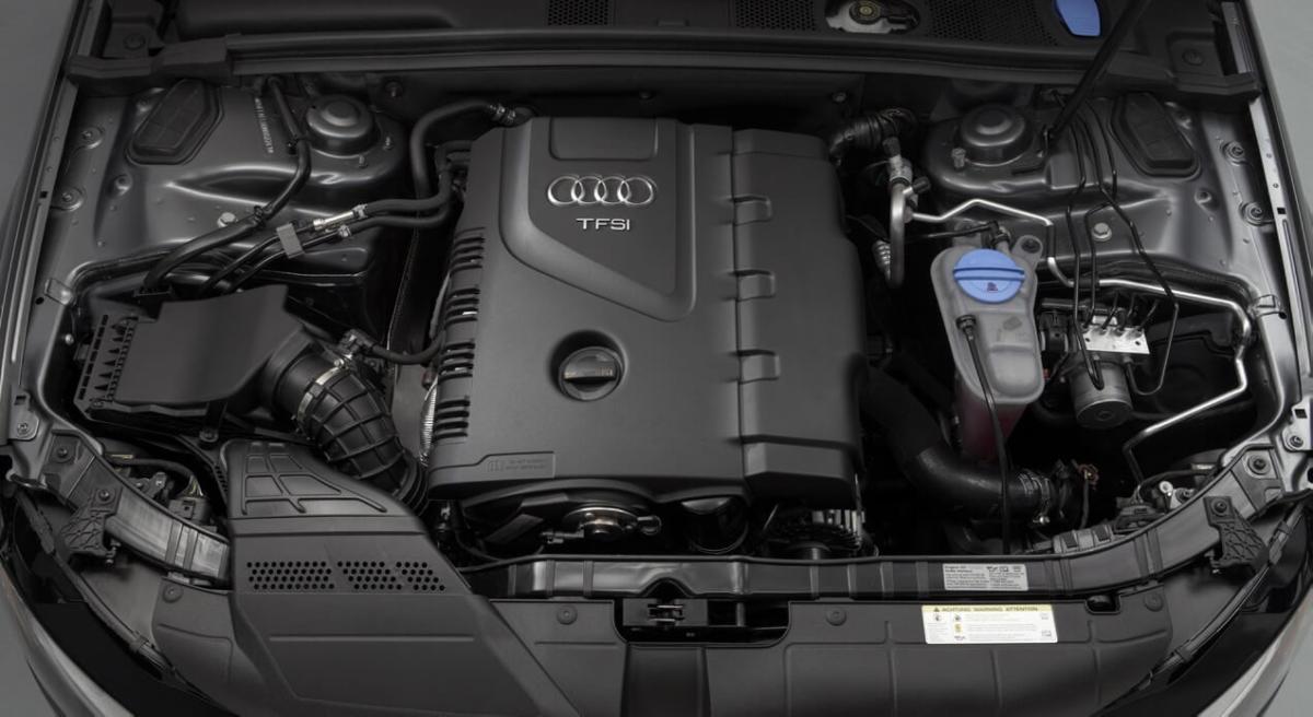 Бензиновый двигатель Audi A4