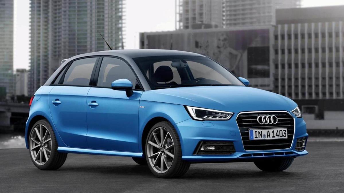 Audi A1 фото авто