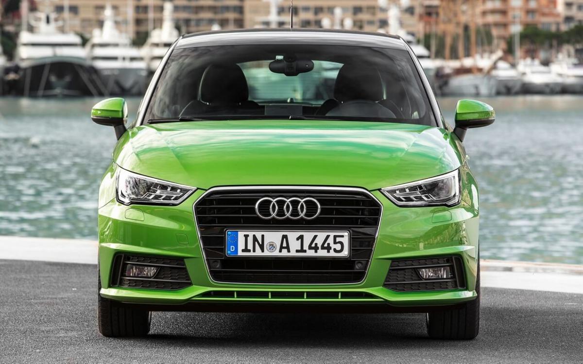 Audi A1 2014 года