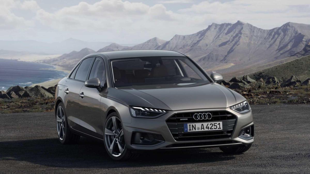 Audi A4 вид спереди