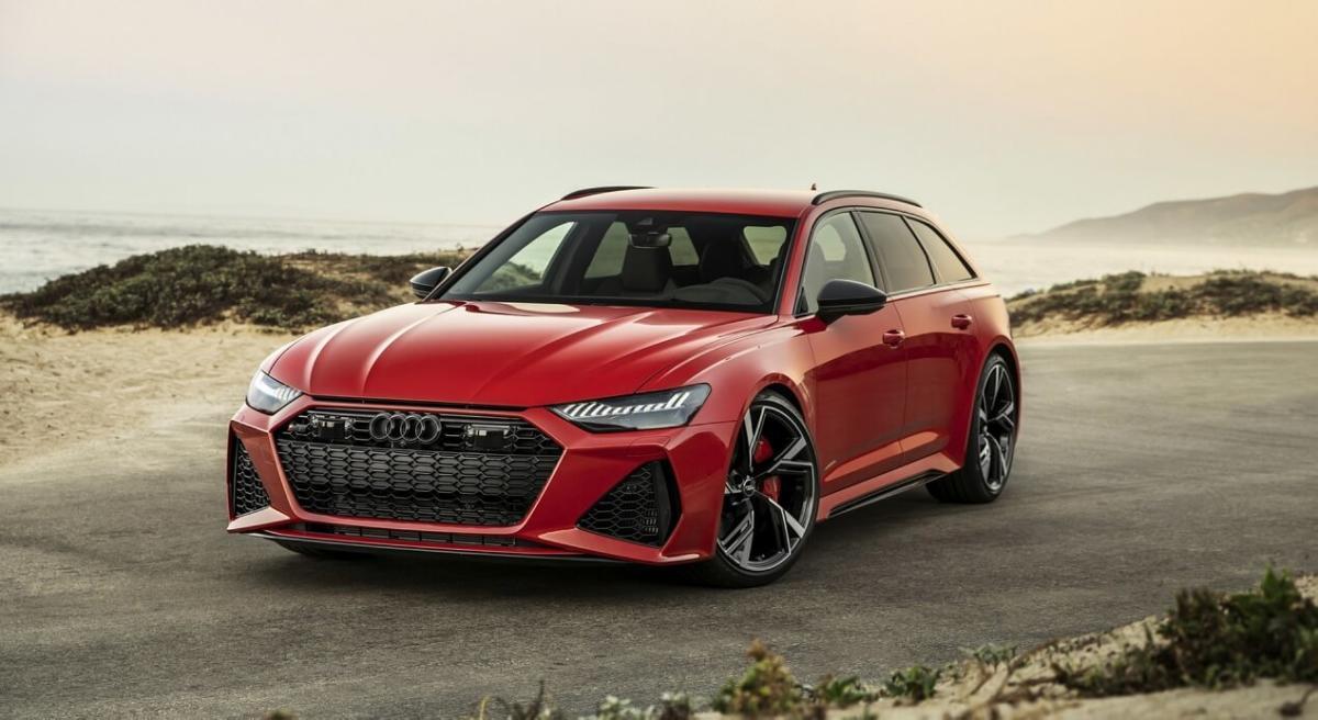 Audi RS6 Avant C8 фото авто