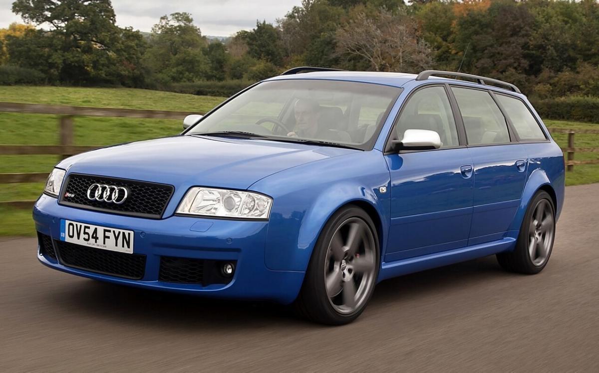 Фото Audi RS 6 plus Avant