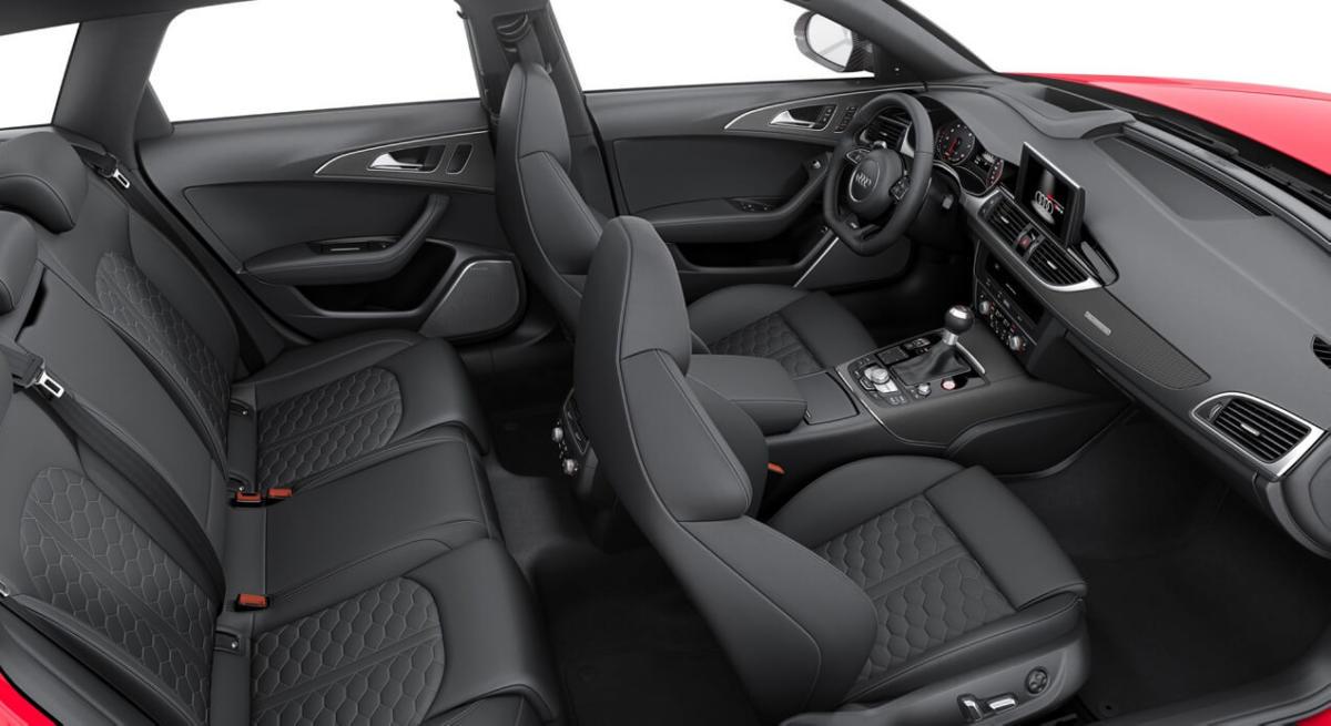 Салон Audi RS6 Avant C7