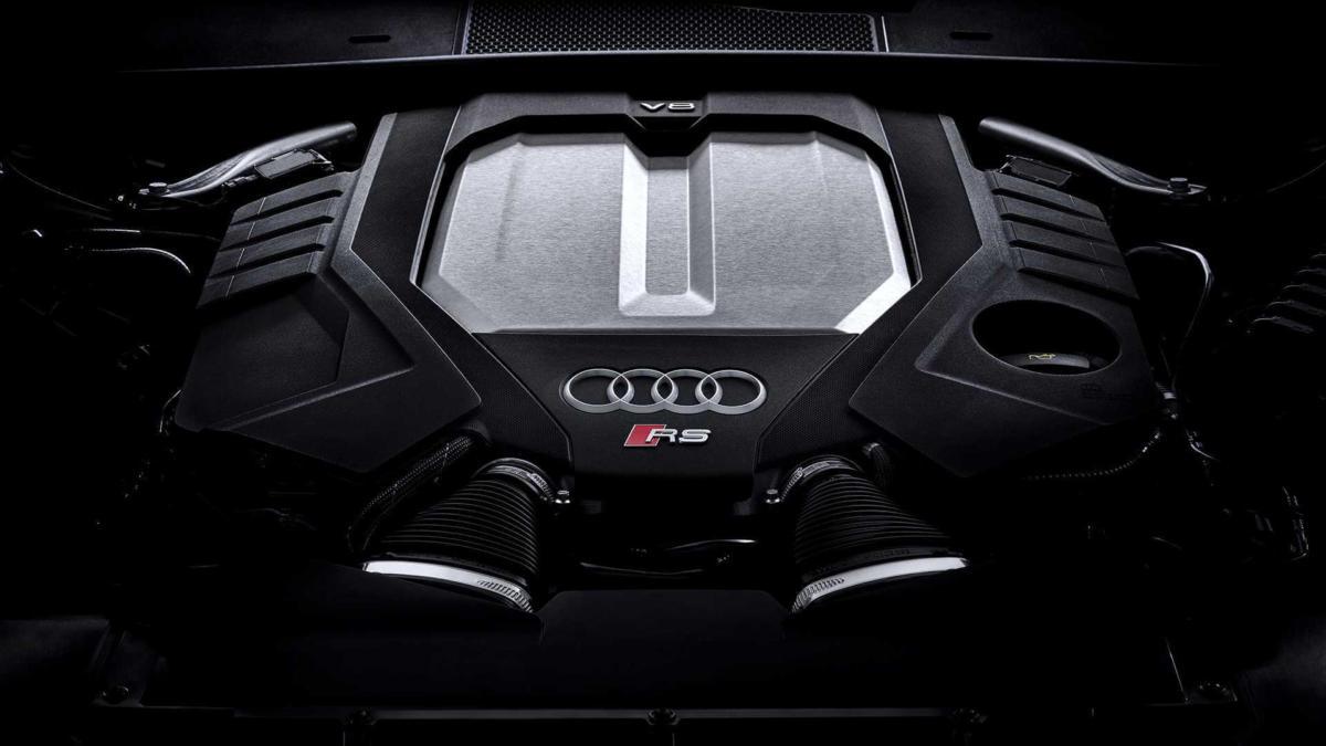 Двигатель Audi RS 6 Avant (C8)