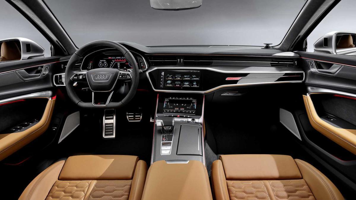 Интерьер Audi RS 6 Avant (C8)