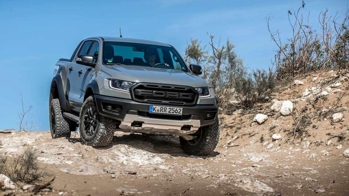 Фото Ford Ranger Raptor