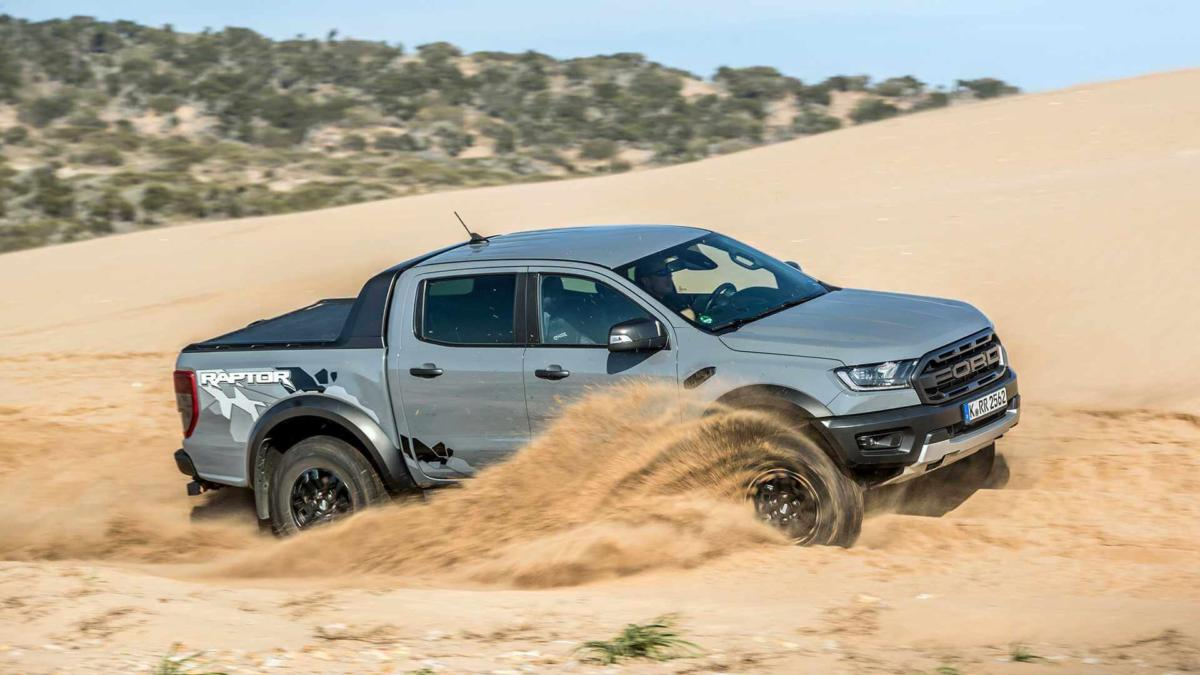Ford Ranger Raptor фото авто