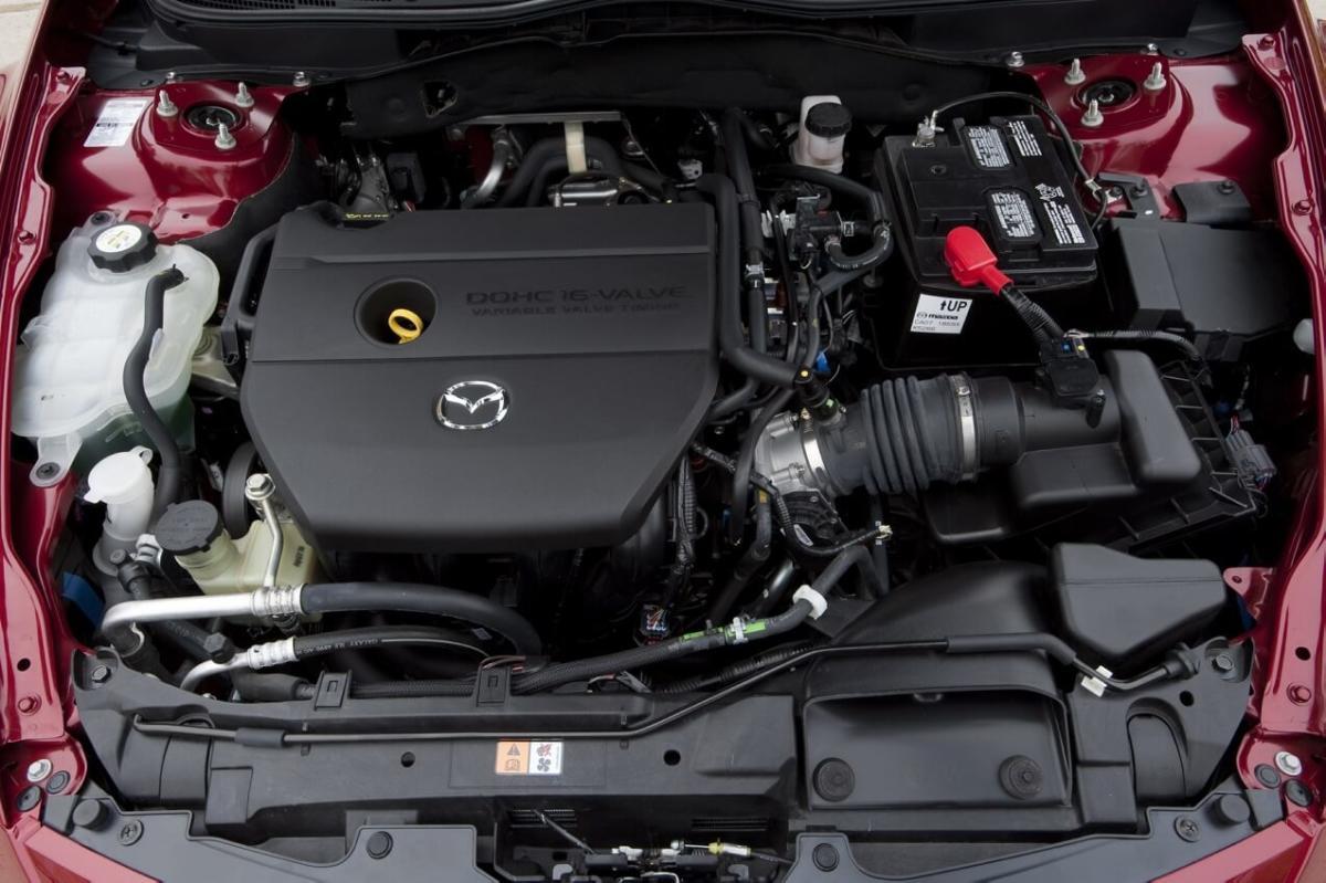 Двигатель Mazda 6 II поколение