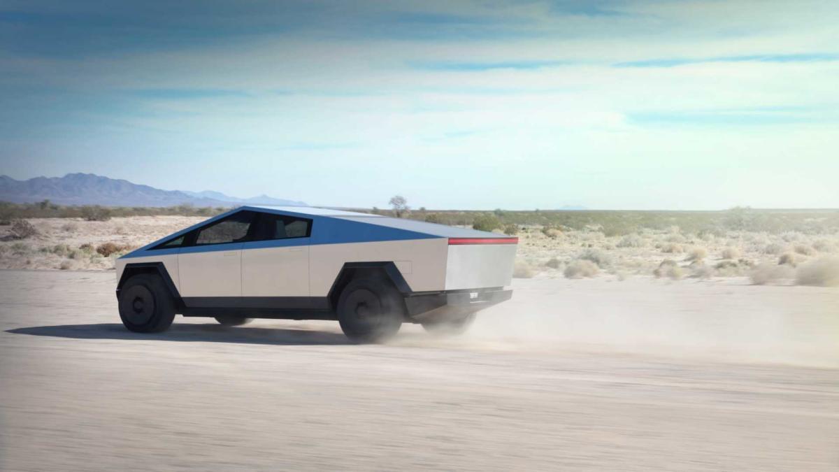 Tesla Cybertruck фото авто