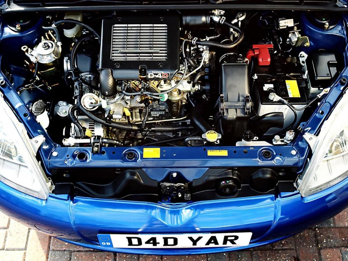 Двигатель Toyota Yaris (XP10)