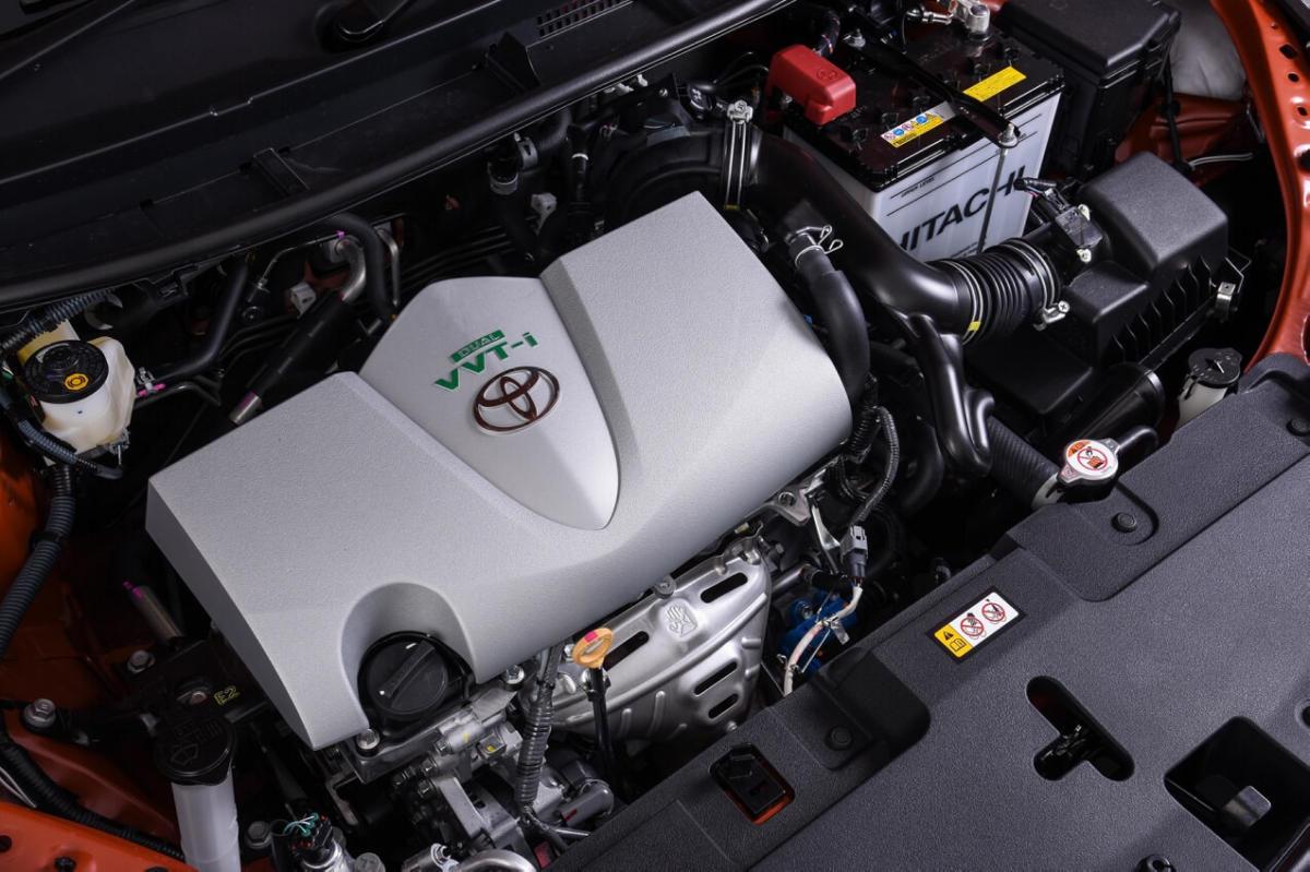 Двигатель Toyota Yaris