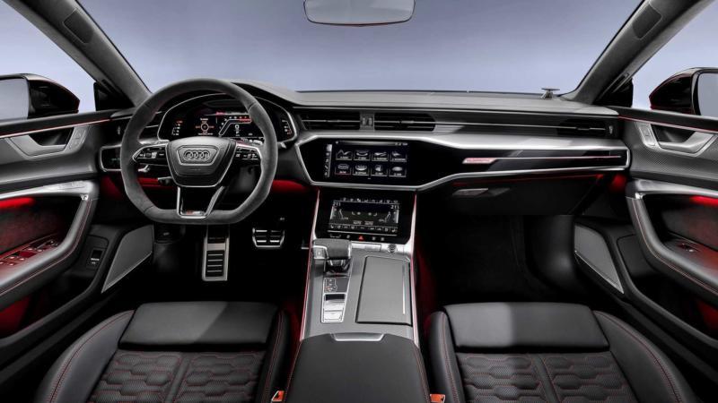 Интерьер Audi RS 7 Sportback