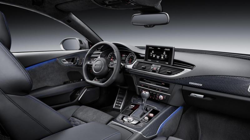 Интерьер Audi RS7
