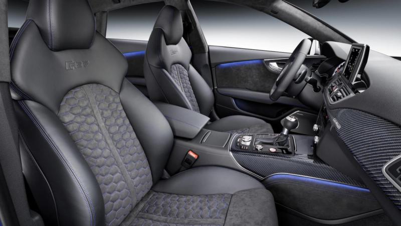 Салон Audi RS7