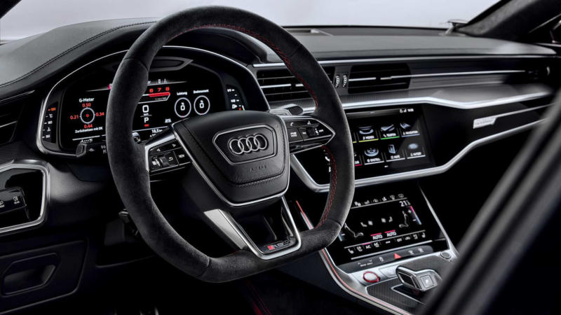 Фото салона Audi RS 7 Sportback