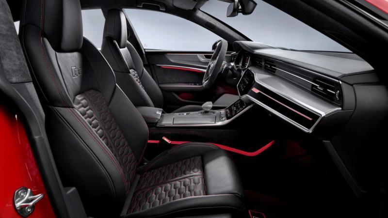 Салон Audi RS 7 Sportback