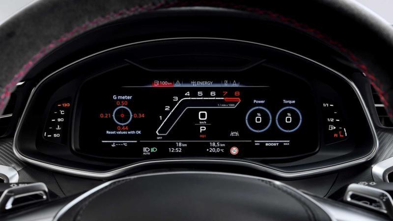 Приборная панель Audi RS 7 Sportback