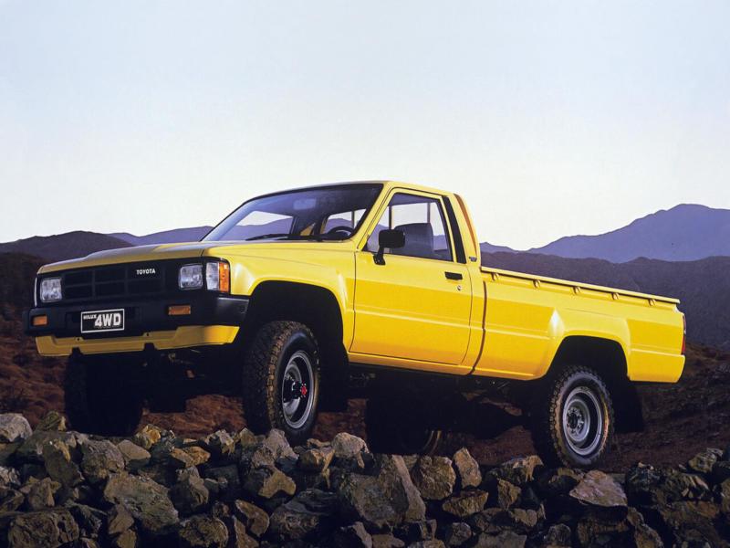 Четвертое поколение Toyota Hilux