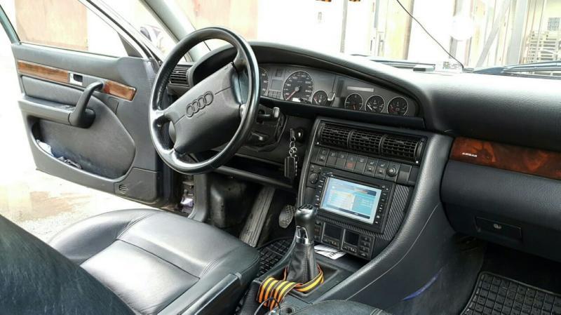 Салон Audi A6 (C4)