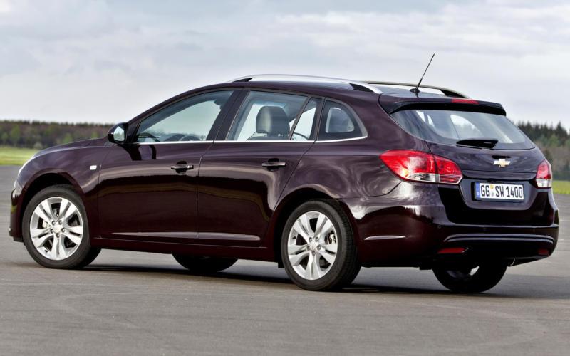 Рестайлинг Chevrolet Cruze