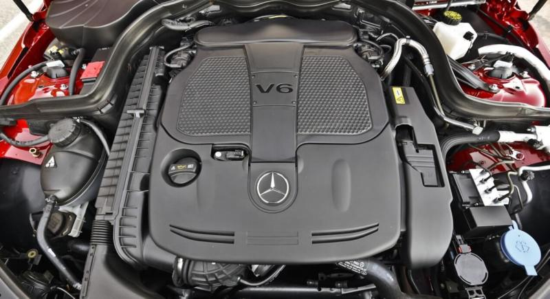 Двигатель Mercedes-Benz C-Class W204