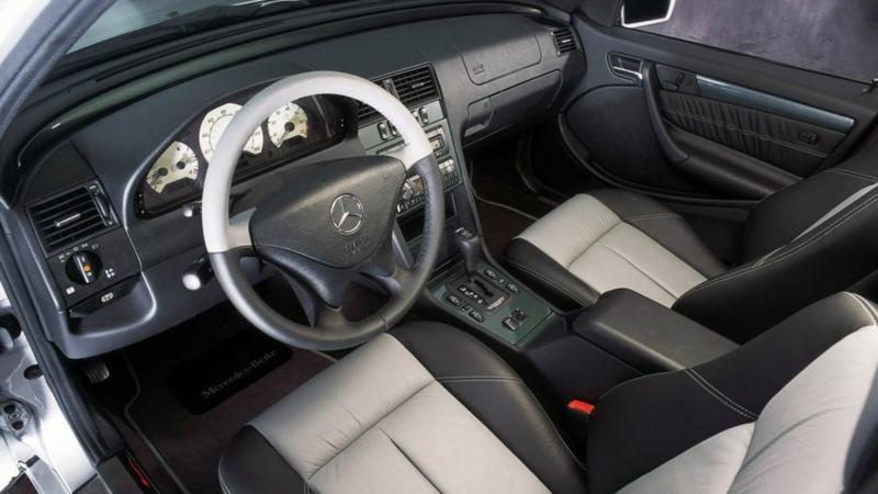 Интерьер Mercedes-Benz C-Class W202